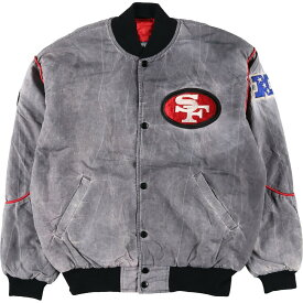 90s Starter NFL SAN FRANCISCO ナイロンスタジャン
