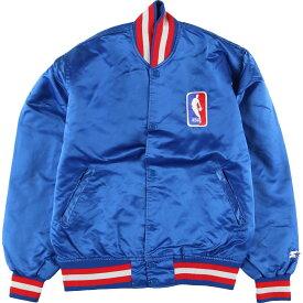 90s Starter NBA ナイロンスタジャン