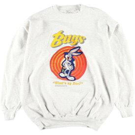 90s GENUS WARNER BROS. キャラクタースウェットシャツ