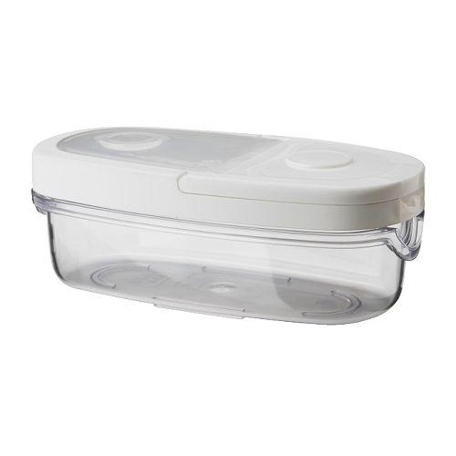 【★IKEA/イケア★】IKEA 365+ 乾燥食品用容器 ふた付き/101.340.18