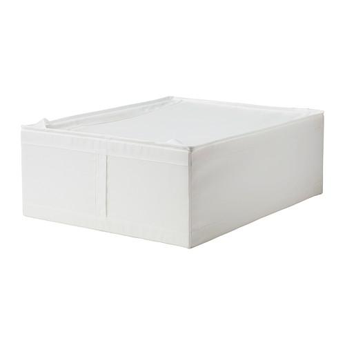 【★IKEA/イケア★】SKUBB 収納ケース ホワイト/ 44x55x19 cm/502.903.61