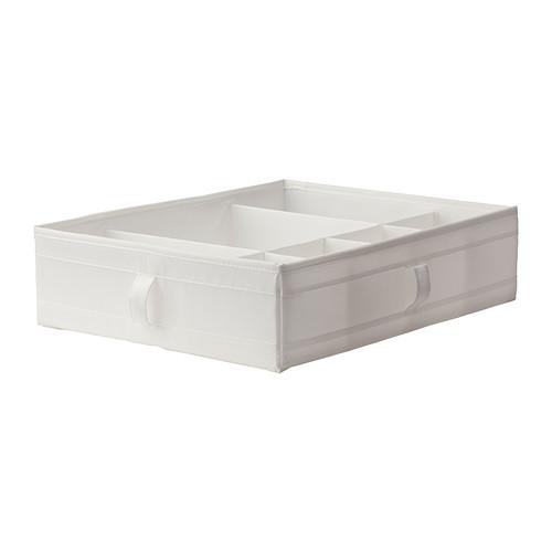 【★IKEA/イケア★】SKUBB ボックス 仕切り付き ホワイト/901.855.94