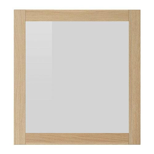 【★IKEA/イケア★】SINDVIK ガラス扉 ホワイトステインオーク調/902.963.18