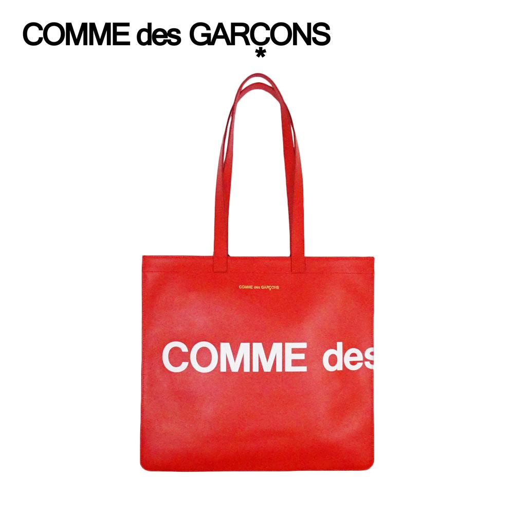 メンズバッグ, トートバッグ COMME des GARCONS ( ) HUGE LOGO TOTE BAG SA9001HLREDF