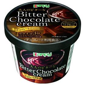 【新商品】カンピー大人のビターなチョコレートクリーム140g[0004-0911*01]