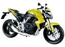 スカイネット 1/12 完成品バイク HONDA CB1000R (イエロー) 【北海道・九州は300円、沖縄は1300円別途料金が加算されます】