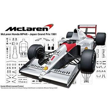 フジミ模型 1/20 グランプリシリーズ No.25 マクラーレン・ホンダ MP4/6(日本GP/サンマリノGP/ブラジルGP) プラモデル GP25  【北海道・九州は300円、沖縄は1300円別途料金が加算されます】