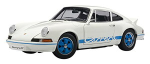 AUTOart 1/18 ポルシェ 911 カレラ RS 2.7 '73 (ホワイト・ブルー)