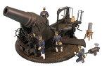 ピットロード 1/35 グランドアーマーシリーズ 日本陸軍 二十八糎榴弾砲 砲兵4体付 プラモデル G44