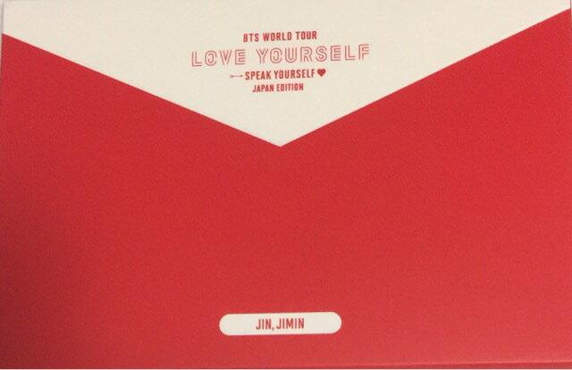 コレクション, その他  BTS ( 2019J JM WORLD TOUR Speak YOURSELF JAPAN EDITION