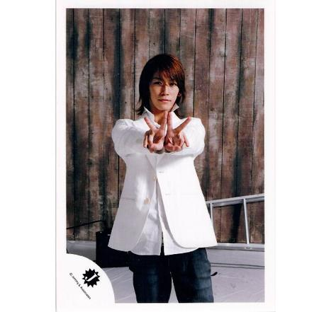 KAT-TUN・【公式写真】・・亀梨和也・・Jロゴ・ジャニショ販売フォト