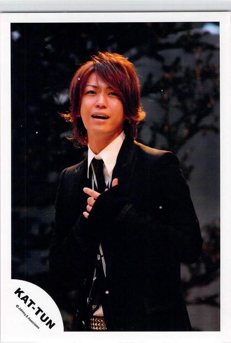 KAT-TUN・・【公式写真】・・亀梨和也・・ジャニショ フォト (kk)