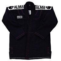 ALMAスーパーノヴァ国産柔術着黒M1号