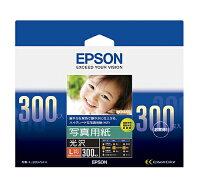 ★まとめ買い★エプソン写真用紙<光沢>Lサイズ・300枚KL300PSKR×10個