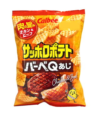 カルビー(株) サッポロポテト バーベQあじ 24g【イージャパンモール】