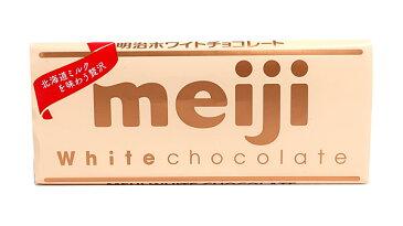 【キャッシュレス5%還元】明治 ホワイトチョコレート 40g【イージャパンモール】