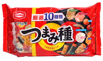 ★まとめ買い★亀田製菓つまみ種×12個