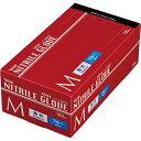 川西工業 ニトリル 使いきり極薄手袋 粉付 ブルー M 1箱(100枚)