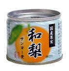 サンヨー堂 国産果実 EO8号缶 和梨【イージャパンモール】