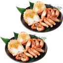 【送料無料】北海道産 ボイル毛蟹半剥き身(計1kg)【代引不可】【ギフト館】