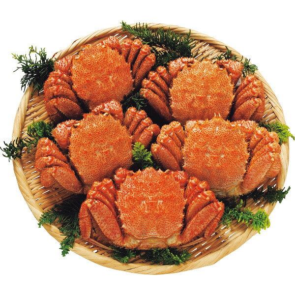【送料無料】北海道産ボイル毛蟹5尾(計2kg)【代引不可】【ギフト館】