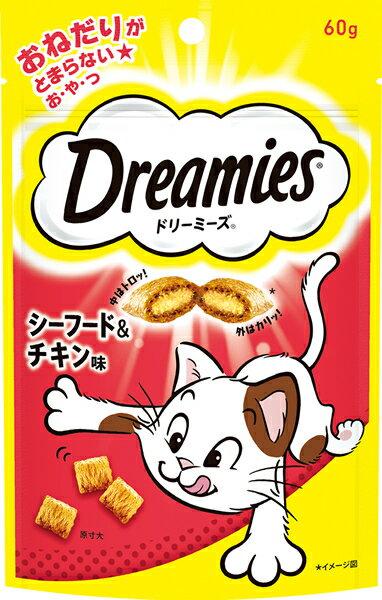 ドリーミーズ シーフード&チキン味 60g【イージャパンモール】