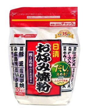 【送料無料】★まとめ買い★ 日清F お好み焼粉 500g ×12個【イージャパンモール】