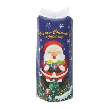 【送料無料】ハッピークリスマス サンタロール トイレットペーパー 50パック入 2361【生活雑貨館】