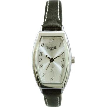 【送料無料】マレリー デュエ レディース腕時計 ブラック MDL−01H【代引不可】【ギフト館】