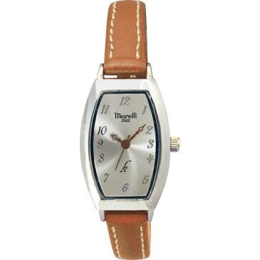 【送料無料】マレリー デュエ レディース腕時計 ブラウン MDL−02H【代引不可】【ギフト館】