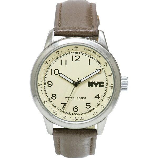 【送料無料】NYC メンズ腕時計 NYCG‐002【代引不可】【ギフト館】