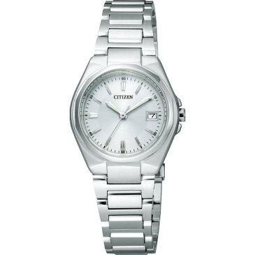 【送料無料】シチズン レディース腕時計 ホワイト EW1381−56A【代引不可】【ギフト館】
