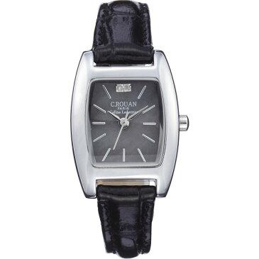 【送料無料】セ・ルーアン レディース腕時計 ブラック CRTK−100BL【代引不可】【ギフト館】
