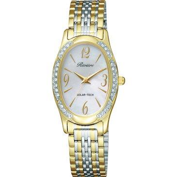 【送料無料】リビエール レディース腕時計 ゴールド TQA98−8581【代引不可】【ギフト館】