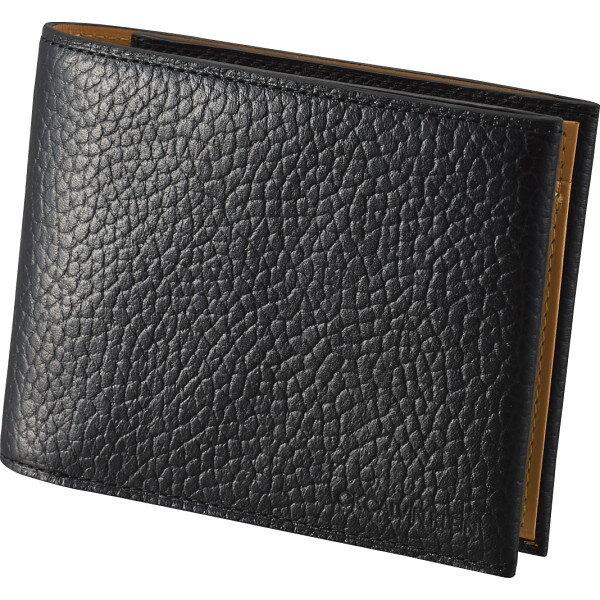 CKカルバン・クライン2つ折り財布ブラック820624 代引不可  ギフト館