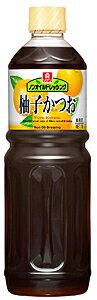 【キャッシュレス5%還元】理研 ノンオイルドレ 柚子かつお 1L【イージャパンモール】
