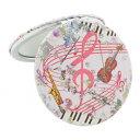 【送料無料】ロイヤルアーデン コンパクトミラー ミュージックシリーズ ラウンド 73629【生活雑貨館】