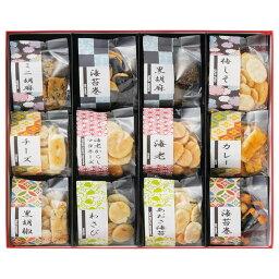 【送料無料】お煎餅12種詰合せ あられ煎 AS−03【ギフト館】