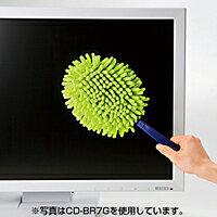 サンワサプライマイクロファイバークリーニングモップCD-BR7D
