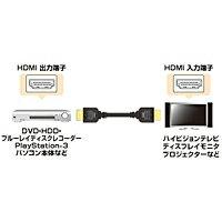 サンワサプライハイスピードHDMIケーブルKM-HD20-10H
