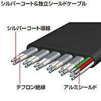 サンワサプライマイクロHDMI巻取りケーブルKM-HD23-MC12