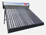 熱交換ヒートパイプ式(水道圧型)サンヒート(SNH-20F)真空管20本/200Lタンク/床置式架台