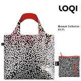 LOQI ローキー eco-bag エコバッグ Museum Collection KH.PL キース・ヘリング