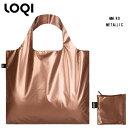 LOQI ローキー eco-bag エコバッグ Artist Collection MM.RO METALLIC Rose Gold