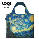 LOQI ローキー eco-bag エコバッグ Museum Collection VG.SN ヴィンセント・ヴァン・ゴッホ/星月夜(糸杉と村)