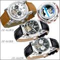 J.Harrisonジョン・ハリソン手巻式腕時計JH-044BBJH-044BWJH-044WB