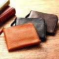 池之端銀革店イタリアンシュリンクレザーL字ファスナー財布【日本製】OT-WL007