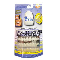 部分付け歯審美歯義歯つけ歯仮歯部分歯虫歯すきっ歯送料無料【インスタントスマイル・テンポラリートゥースキット(部分抜け歯専用)】【送料無料】【ポイント倍】笑顔で写真を撮る時などに取り付ける入れ歯・差し歯の代わりにsl