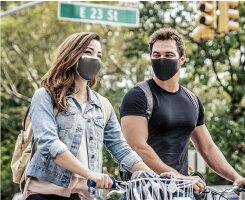 花粉対応スポーツマスク男女兼用呼吸がしやすいマスクNAROOMASK(ナルーマスク)F.U+ビジネス用マスク普段使いマスク洗って繰り返し使える速乾性高機能フィルターマスク布マスク
