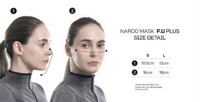 NAROOMASK(ナルーマスク)F.U+洗って繰り返し使える、高機能フィルターマスク布マスク不織布マスク
